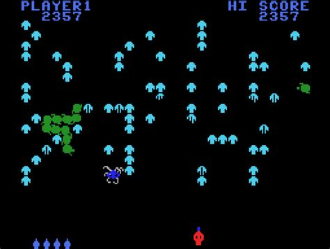 Game Review Atarisoft Centipede For Colecovision Coleco