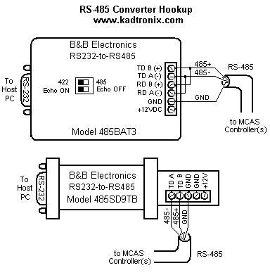 rs232 to rs485 wiring diagram mcas wiring hookup details