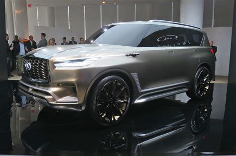 infiniti qx monograph styling cues bound  production