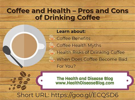 Drinking black coffee opens the door to a whole new world of experiences. Coffee and Health - Pros and Cons of Drinking Coffee