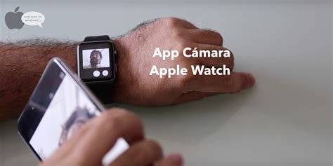 camara de descarga para apple watch