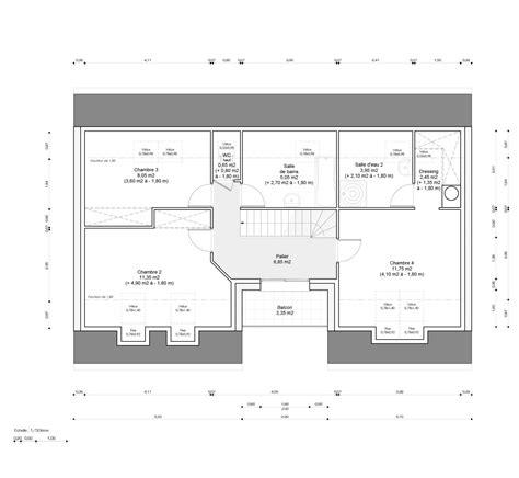 plan chambre salle de bain plan chambre parentale avec salle de bain et dressing
