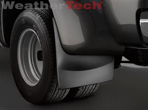 weathertech  drill mudflaps ford super duty dually