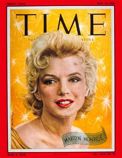 marilyn monroe first magazine cover 50 best time magazine covers