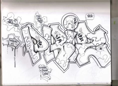 Graffiti Sketch : The Toyscrew Blog