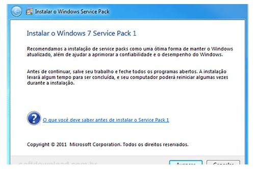 baixar instalador offline windows 7 sp1 update