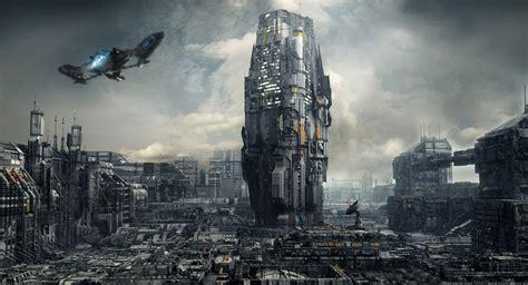 futuristic sci fi art  markus vogt digital artist