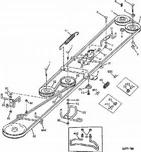John Deere Stx38 Belt Diagram Black Deck