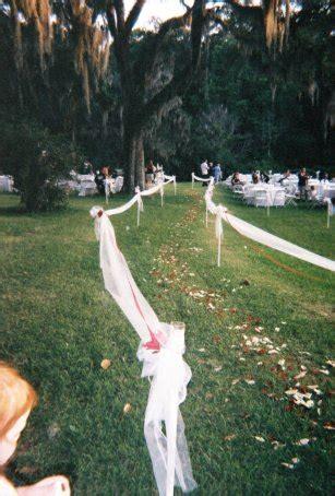 Planning A Backyard by Planning The Backyard Wedding