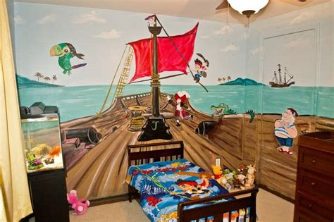chambre bébé pirate déco chambre enfant 50 idées cool pour enjoliver les murs