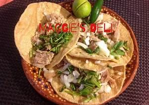 Tacos de Carnitas de puerco Receta de Maggie - Cookpad