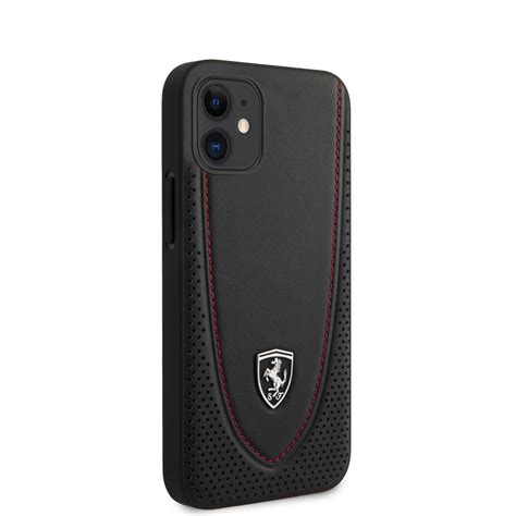 These ferrari iphone case are made up of materials that are resistant to heat, moisture, scratch and dust hence help in giving a longer life to your mobile. Ferrari Hard Case Real Leather Off Track iPhone 12/12Pro/12 Pro Max/Mini   eBay