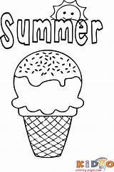 Coloring Ice Cream Colouring Sheets Preschool Printable Unicorn Popular Kidocoloringpages sketch template