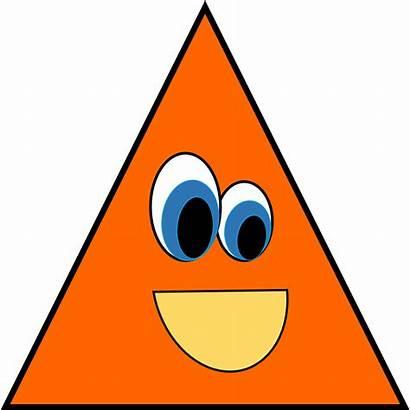 Triangle Shapes Clipart Clip Shape Triangular Cliparts