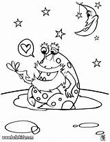 Alien Coloring Pages Space Galaxy Ufo Printable Print Aliens Bruno Mars Sheets Outer Rocket Funny Getcolorings Preschoolers Hellokids Monster Adults sketch template
