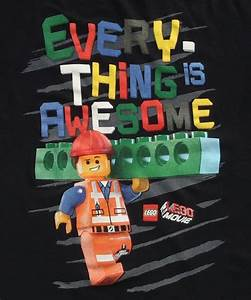 Kids Lego Movie Everything is Awesome T-Shirt