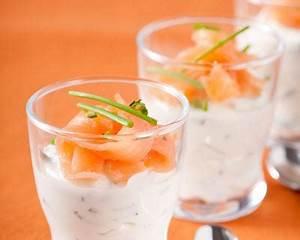 Verrine En Verre Pas Cher : recette verrine au saumon fum ~ Teatrodelosmanantiales.com Idées de Décoration