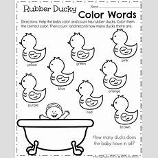 Spring Kindergarten Worksheets  Planning Playtime