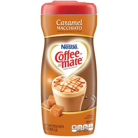 Internet explorer is no longer supported by coffee mate®. Nestle Coffee-Mate Caramel Macchiato (15oz tub) - A Taste of the States