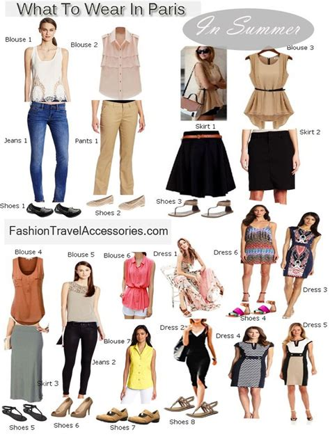 Blouses dresses and pants are Parisians style which are quite chic and sophisticated. They ...