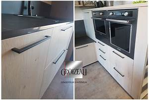 Placards De Cuisine : type de portes et fa ade de cuisine conception et ~ Carolinahurricanesstore.com Idées de Décoration