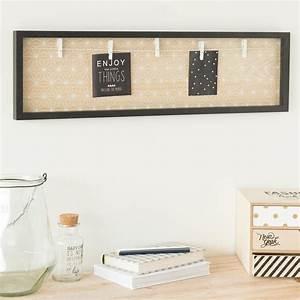 Pele Mele Maison Du Monde : p le m le photo en bois 20 x 72 cm blackstage maisons du ~ Melissatoandfro.com Idées de Décoration
