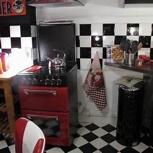 Adhesif Credence Cuisine : adh sif carrelage sur carreaux cr dence cuisine noir et blanc ~ Melissatoandfro.com Idées de Décoration