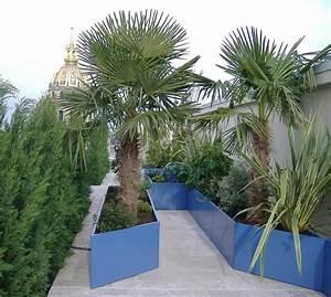Jardinière Haute Pas Cher : toit terrasse parisien ~ Premium-room.com Idées de Décoration