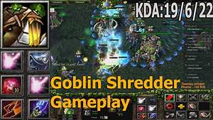 DotA Rizzrak, Goblin Shredder Gameplay (Запись Стрима ...
