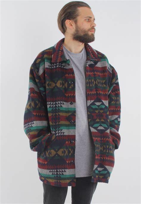 vintage aztec jacket gullygarms asos marketplace