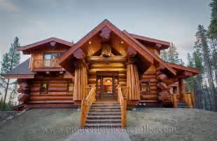 HD wallpapers log homes kits bc canada