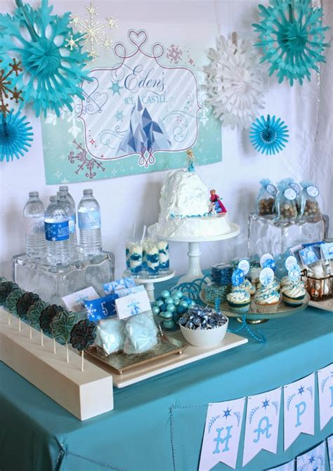 sneak peak frozen party frozen party printables