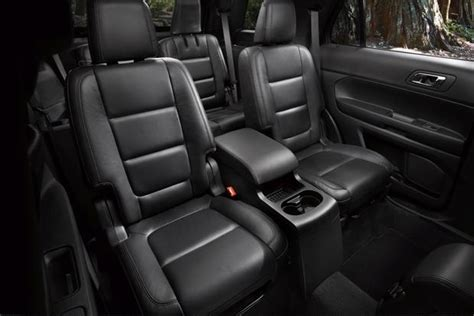 ford explorer captains chairs second row 2013 ford explorer new car review autotrader