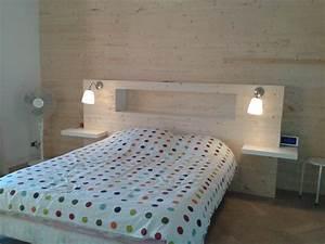 Idee Deco Tete De Lit : chambre fabriquer sa tete de lit sikel idee peinture chambre avec idee peinture chambre deco ~ Melissatoandfro.com Idées de Décoration