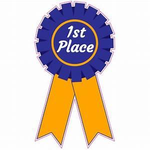 1st Place Ribbon Sticker