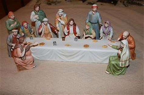 home interior jesus figurines home interior quot supper quot jesus figurines home