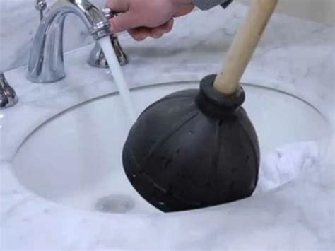 how to fix a clogged sink bathroom how to fix a clogged sink severely clogged