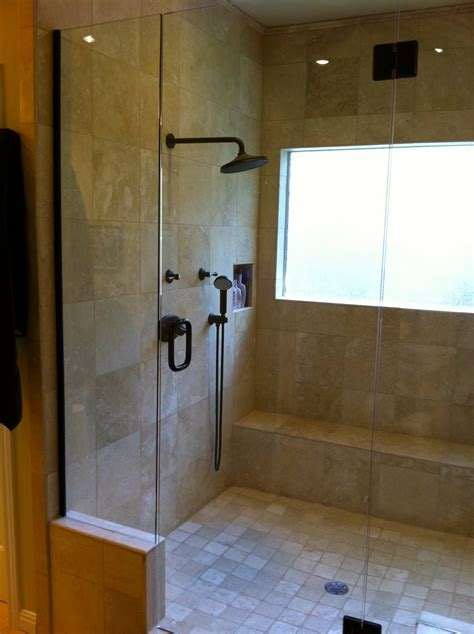 Two Shower Bathroom by Remodelaholic Master Bathroom Remodel With Shower