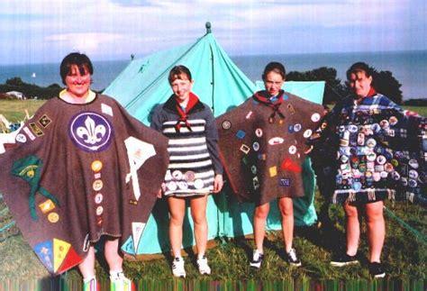 british girl guides   camping
