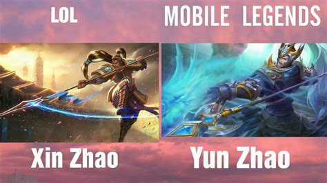 League Of Legends Vs Mobile Legends Youtube