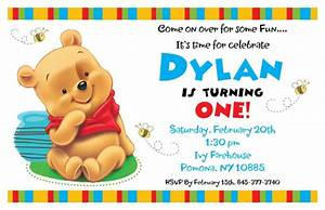 printable birthday invitations for kids boys or girls With winnie the pooh birthday invitations templates