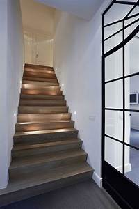 15, Modern, Staircases, With, Spectacular, Lighting
