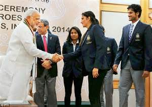 A day to remember: Modi meets athletes at the Asian Games ...
