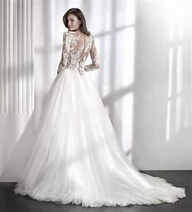 Robe Mariage Dentelle : robe dentelle de mariage libia manches dentelle l sonia b ~ Mglfilm.com Idées de Décoration