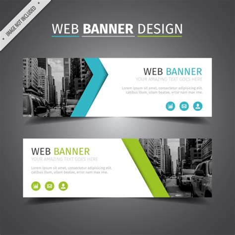 best homepage design blue and green web design vector free