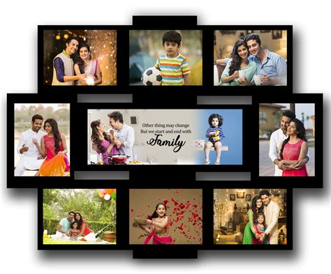 picture collage ideas for large wall collage best personalized gifts india