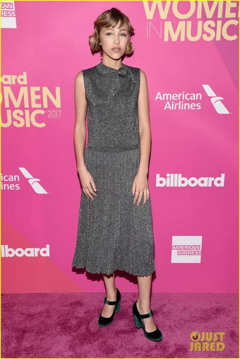 Grace Vanderwaal Accepts Rising Star Award From Billboard