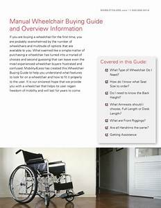Manual Wheelchair Buying Guide