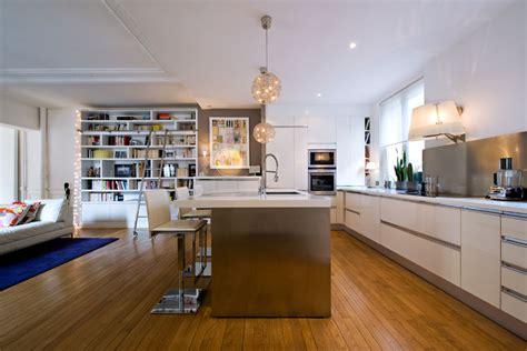 cuisine ouverte design une cuisine ouverte pour intérieur design inspiration