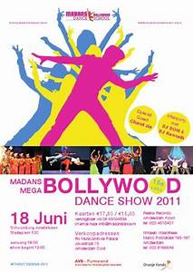 Madans Mega Bollywood Dance Show 2011 Poster by Bryan ...
